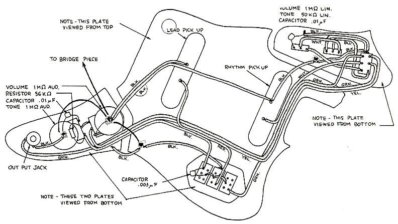 vintage fender jaguar wiring diagram efcaviation com DeLorean Wiring Diagrams jaguar wiring diagrams